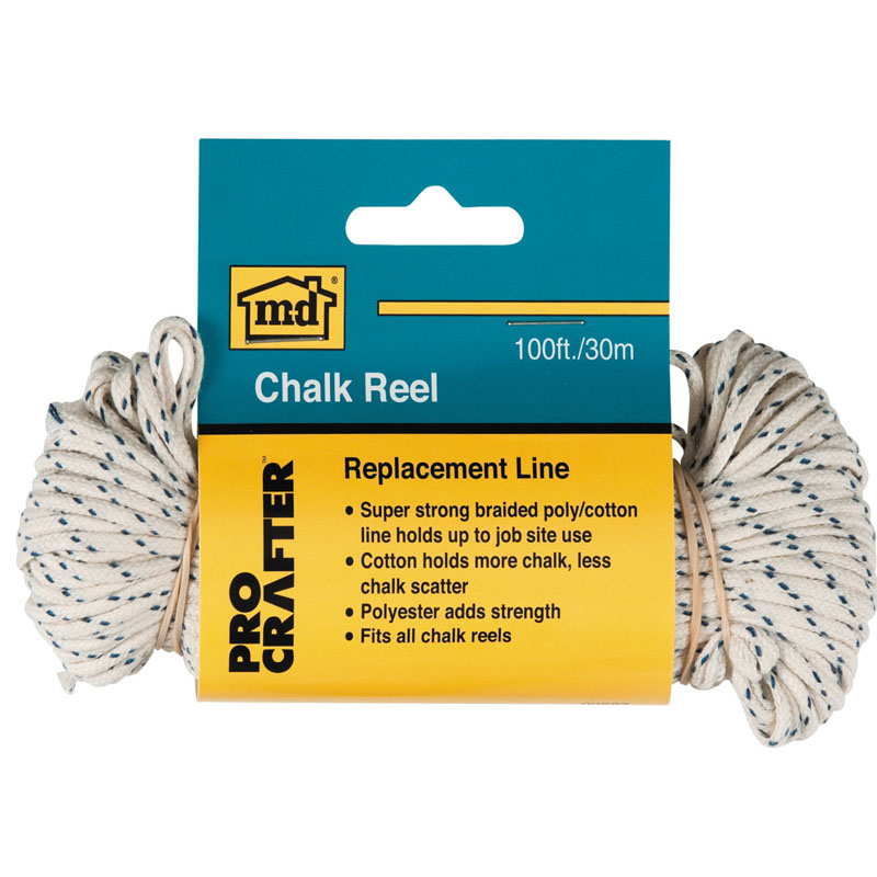 100' Chalk Replacement Reel Line by M-D Building Products - MDBuildingProducts.com