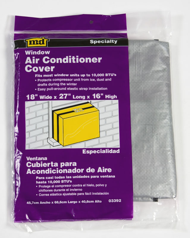 Air conditioner cover window 18 x 27 x 16 m d for 18 x 27 window