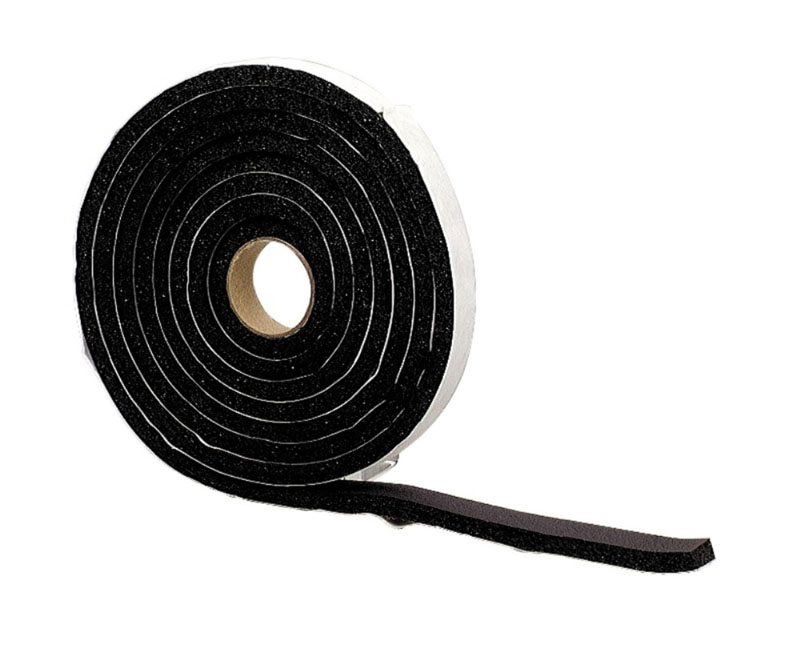 "1/4X3/4""X10' PREMIUM SPONGE W/S (BLACK) by M-D Building Products - MDBuildingProducts.com"