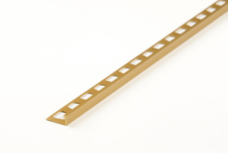 "L-Shape Tile Edging - 1/4"" x 96"" by M-D Building Products - MDBuildingProducts.com"