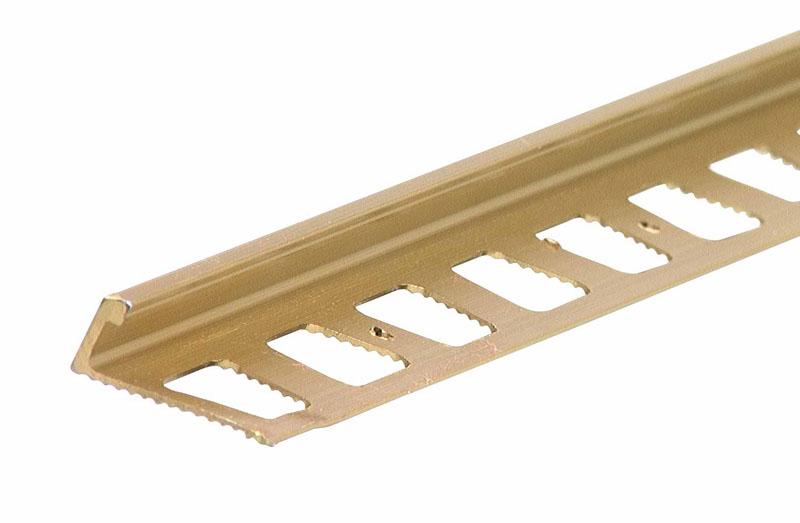 "L-Shape Tile Edging - 1/2"" x 96"" by M-D Building Products - MDBuildingProducts.com"