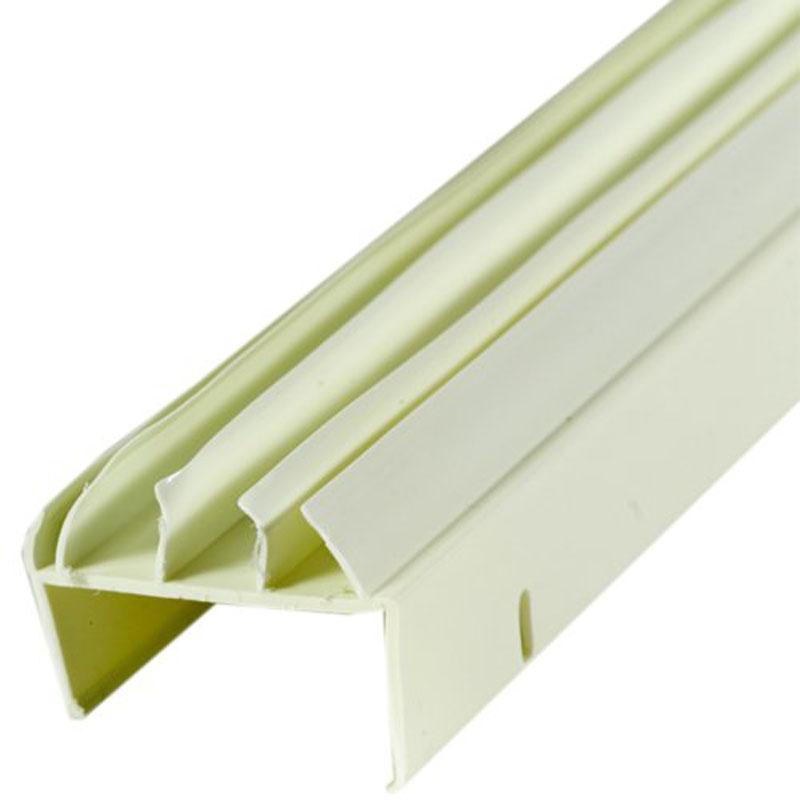 1-3/4 in. x 36 in. U-Shape Vinyl Fin Door Bottoms (44-Pack) by M-D Building Products - MDBuildingProducts.com