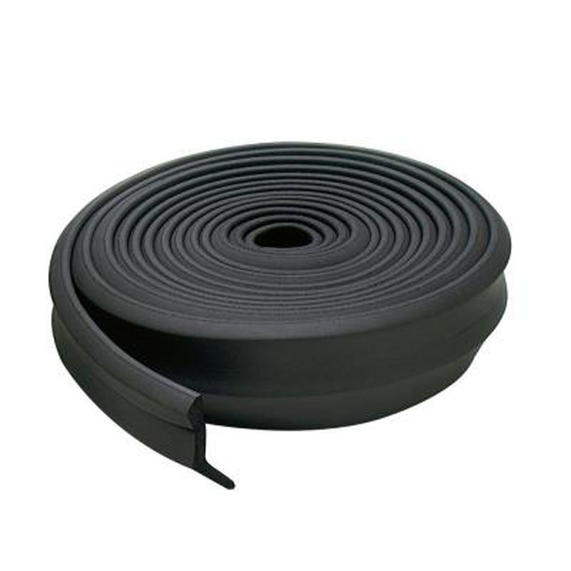 2 In. X 100 Ft. Rubber Garage Door Bottom