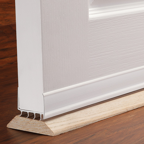 SEAL THE BOTTOM OF YOUR DOOR & M-D Building Products Inc: Make a Stress-Free Winter