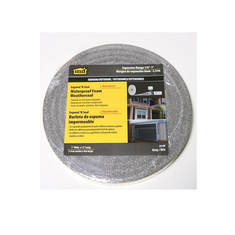 Expand 'N Seal Compressible Waterproof Foam Tape- 13' Long by M-D Building Products - MDBuildingProducts.com