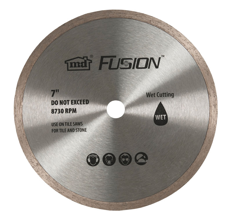 """7"""" Wet Saw Replacement Blade 48088 by M-D Building Products - MDBuildingProducts.com"""