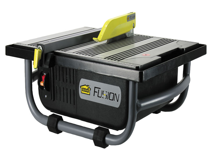 "7"" Cage Fusion Wet Saw 1 Horse Power 48191 by M-D Building Products - MDBuildingProducts.com"