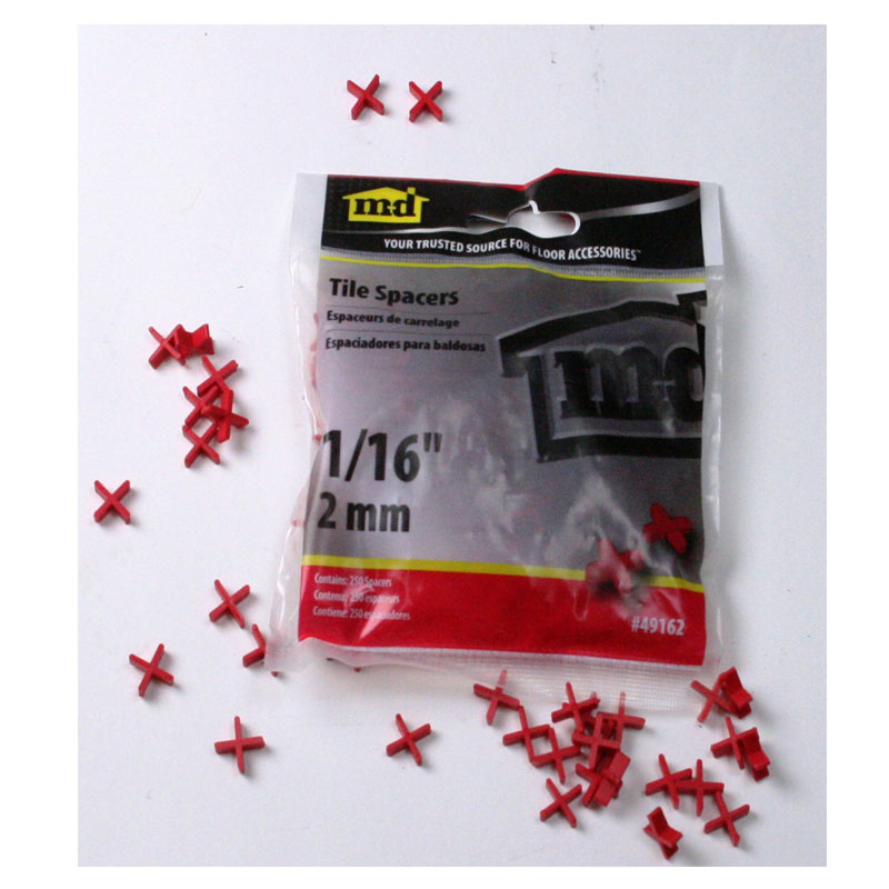"3/16"" Tile Spacers (150/Bag) by M-D Building Products - MDBuildingProducts.com"