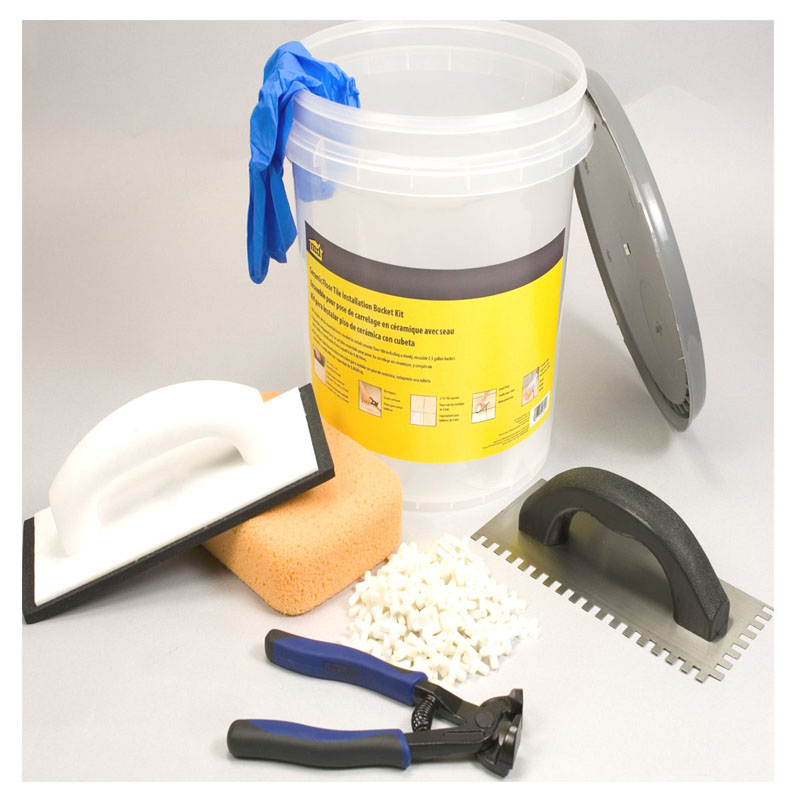 Ceramic Tile Kit Bucket 49834 by M-D Building Products - MDBuildingProducts.com