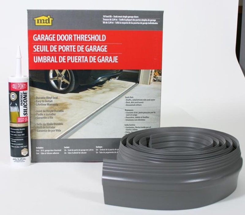 Garage Door Threshold 10' by M-D Building Products - MDBuildingProducts.com