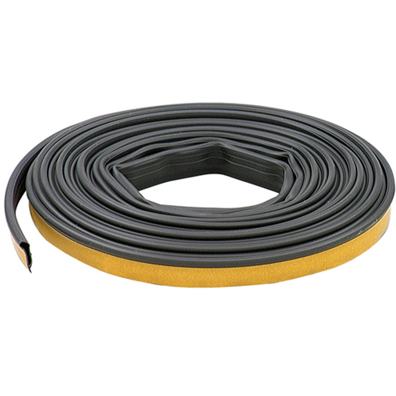 1/2 in. x 20 ft. Black Silicone Door Seal by M-D Building Products - MDBuildingProducts.com