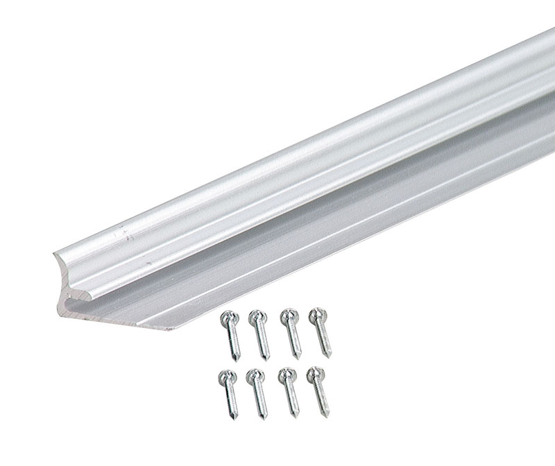 """Aluminum Moulding - Cove A164 - 96"""" by M-D Building Products - MDBuildingProducts.com"""