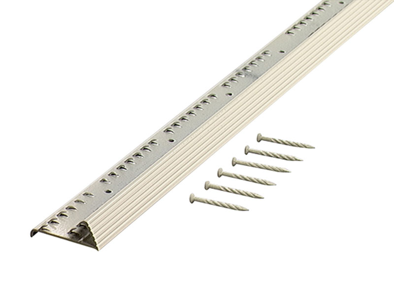 "Carpet Gripper With Teeth - Fluted - 72"" by M-D Building Products - MDBuildingProducts.com"