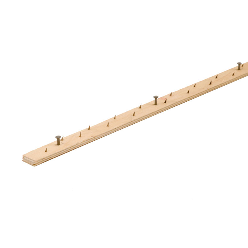 "Carpet Tack Strip - Concrete Nail - 48"" (100/carton) by M-D Building Products - MDBuildingProducts.com"
