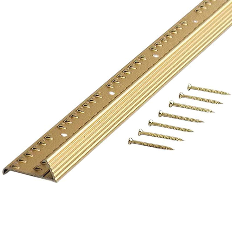 """Carpet Gripper With Teeth - Fluted - 36"""" by M-D Building Products - MDBuildingProducts.com"""