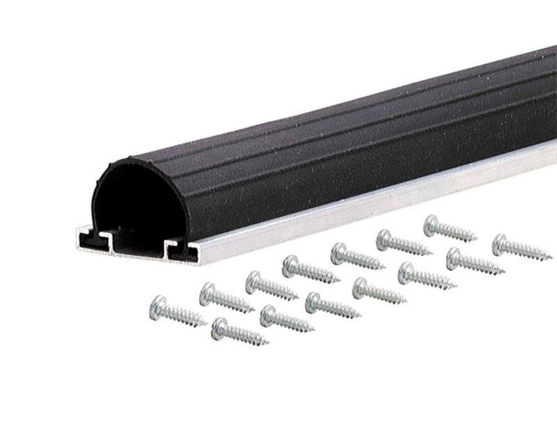 Universal Aluminum Amp Rubber Garage Door Bottom 18 M D