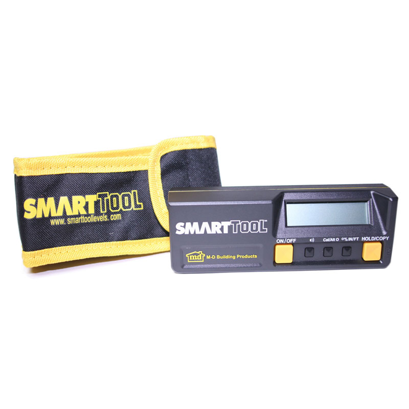 120 cm  SmartTool™ Digital Level (mm/M) W/Carrying Case by M-D Building Products - MDBuildingProducts.com