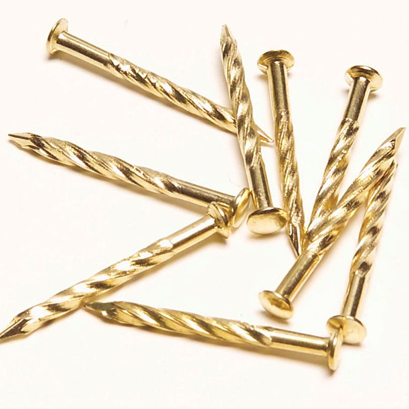 "Screw Nails for Carpet Metal - 1-1/4"" (1 lb pkg) by M-D Building Products - MDBuildingProducts.com"