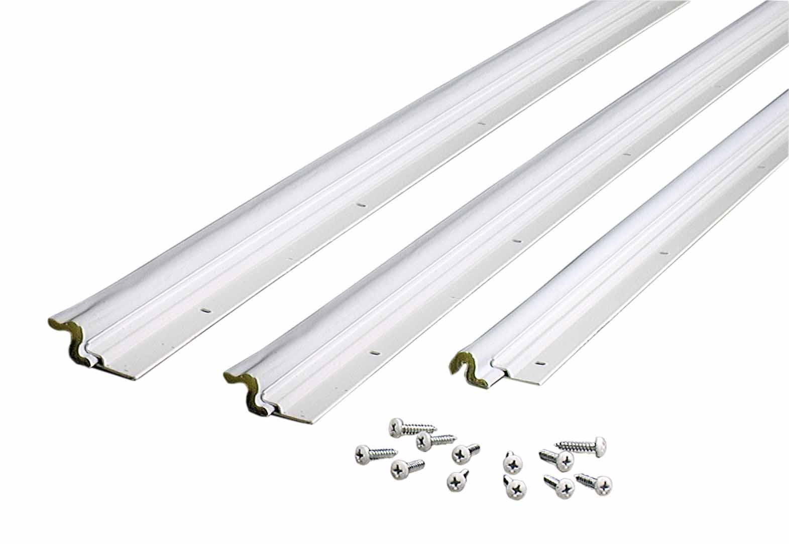 Compression Weatherstrip W Aluminum Stop Door Jamb Kit 36 X 84 With Screws M D Building Products Inc